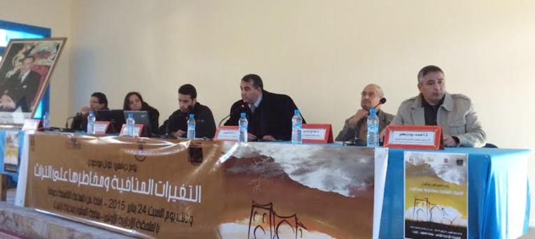 باحثون يتدارسون خطر التغيرات المناخية على المآثر التاريخية بالجنوب المغربي