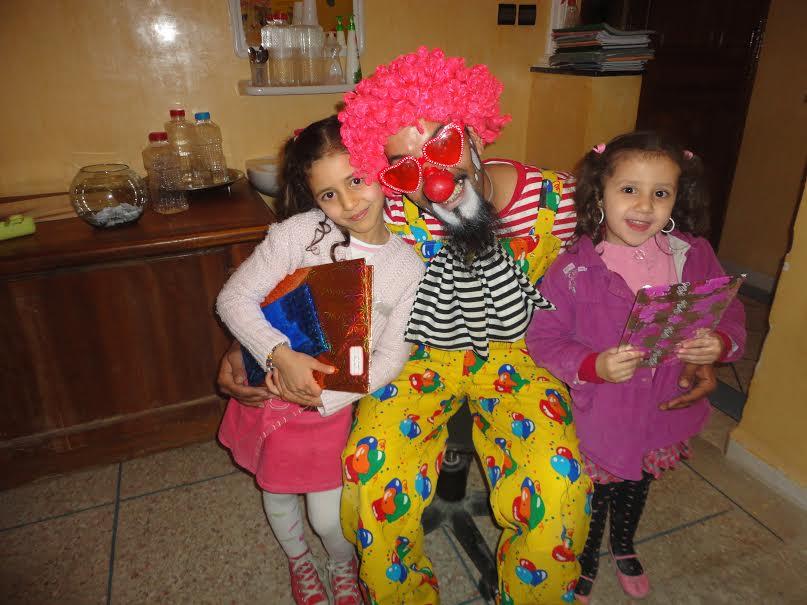 أطفال جمعية حي الانبعاث في أمسية ترفيهية
