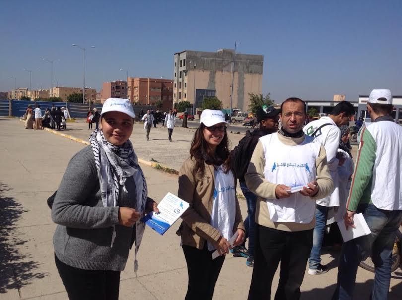 """عن حملة """"نداء"""" المنظمة من طرف شبيبة الحمامة بتيزنيت / تقرير"""