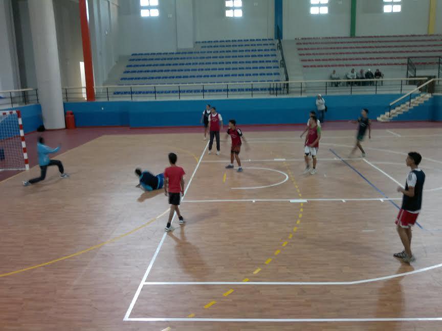 الاستعدادات جارية لتنظيم البطولة الاقليمية لكاس المدارس لكرة القدم والبطولة الاقليمية للالعاب الجماعية