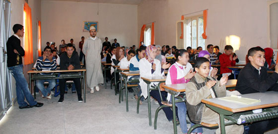 المغرب يسير نحو تعميم التمدرس في السلك الابتدائي، بمعدل 94,5 بالمائة (المرصد الوطني للتنمية البشرية)