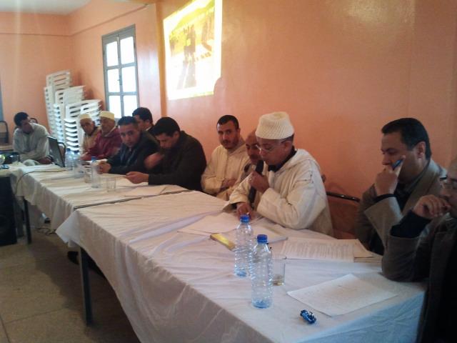 تجديد الثقة في مكتب جمعية الخير لتسيير ورعاية دار الطالب تيوغزة