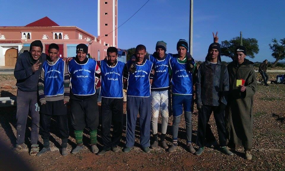جمعية أيت أمجوض للتنمية المستدامة والرياضة تنظم دوريا مصغرا لكرة القدم