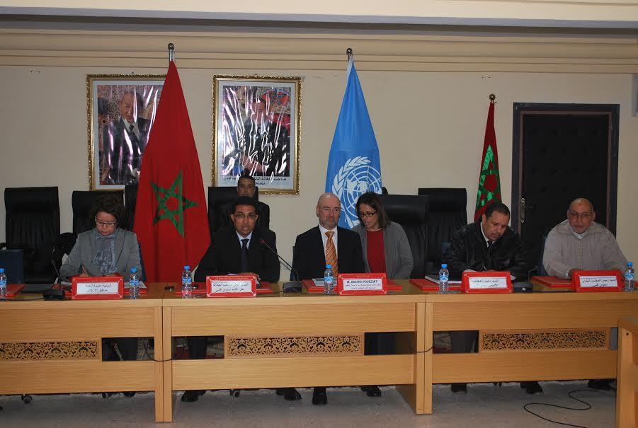 سفير الامم المتحدة بالمغرب يزورسيدي إفني لهذا السبب
