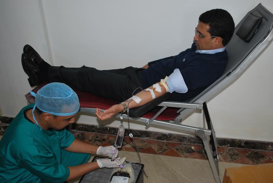 انطلاق حملة طبية للتبرع بالدم بسيدي إفني