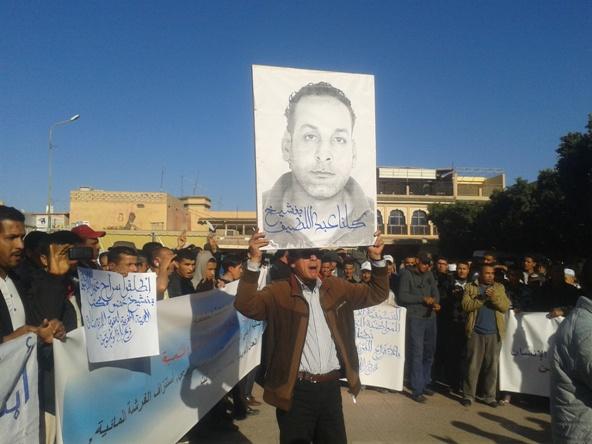 احتجاجات بمدينة تارودانت للمطالبة بإطلاق سراح الحقوقي عبد اللطيف بنشيخ