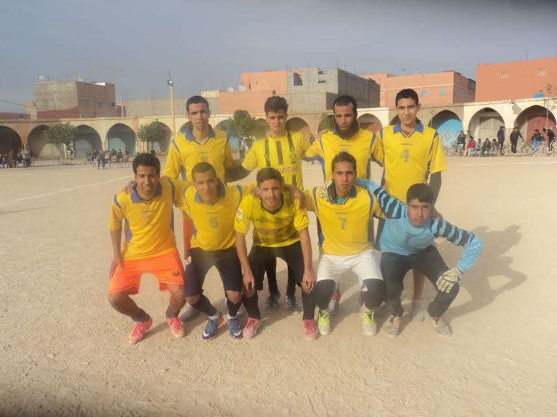 """فريق """" أولاد الحارة """" يفوز بلقب دوري جمعية الجيل الجديد بأولاد جرار"""