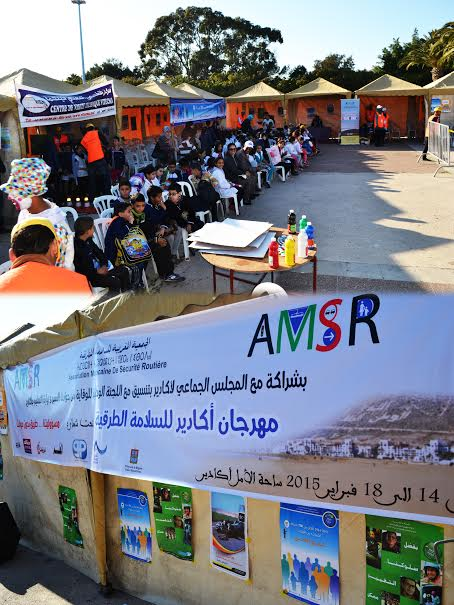 افتتاح مهرجان السلامة الطرقية بأكادير