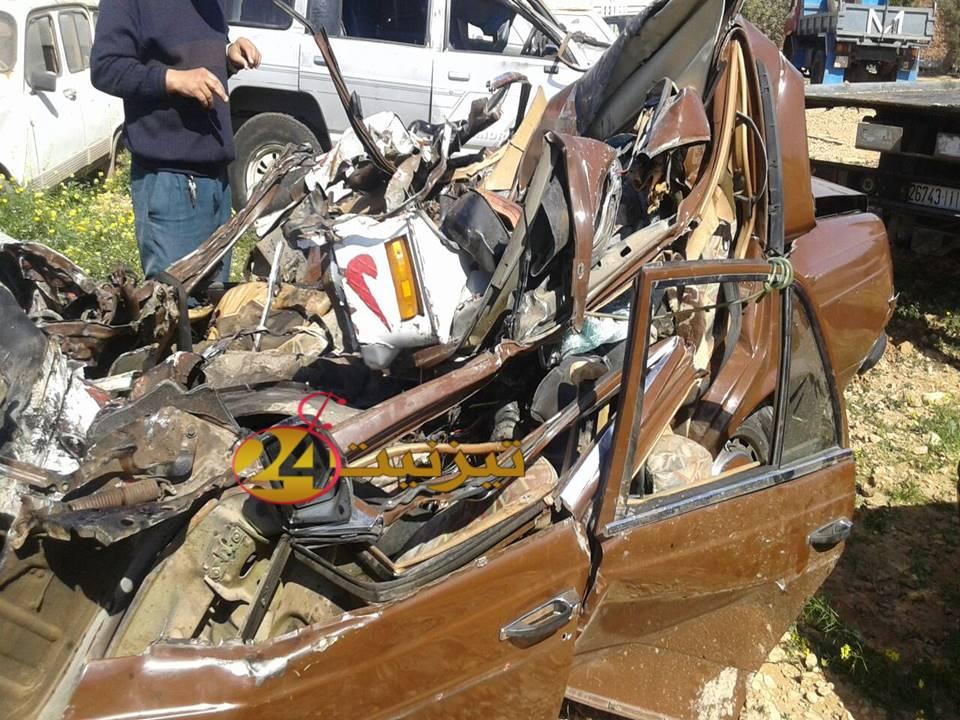 مقتل فقيهين في حادث سير خطير بتيزنيت / مرفق بصور