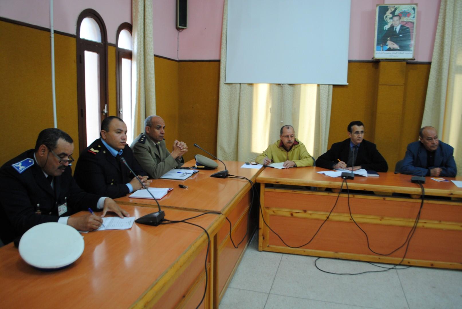 بلدية تيزنيت تستعد لليوم الوطني للسلامة الطرقية