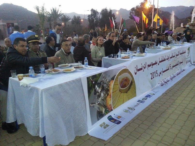 جمعية اللوز تحتفل بموسم إدرنان في إطار فعاليات الدورة الخامسة لمهرجان اللوز بتافراوت