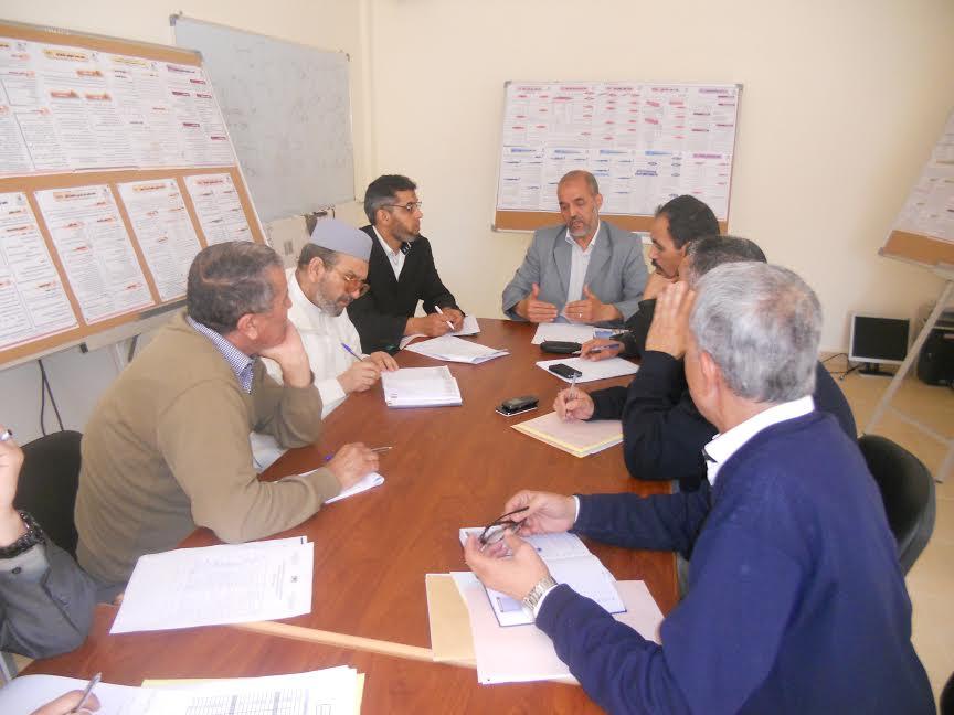 اللجنة الاقليميةلتتبع التعليم الاصيل في صيغته الجديدة تعقد لقاءات تواصلية لارساء مخطط اقليمي لتنمية التعليم الاصيل باقليم تيزنيت
