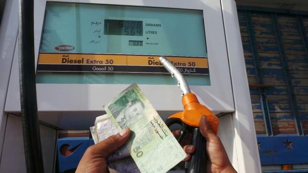 سعر البنزين يتجاوز 10 دراهم للتر بعد قرار زيادة 35 سنتيم