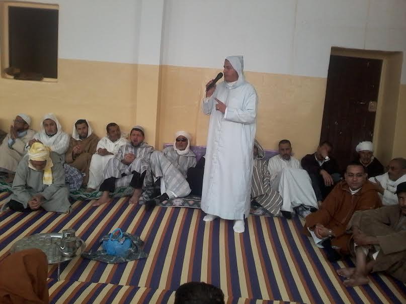 اختتام الملتقى الديني بالمدرسة العتيقة سيدي امحند بن داوود بجماعة مستي