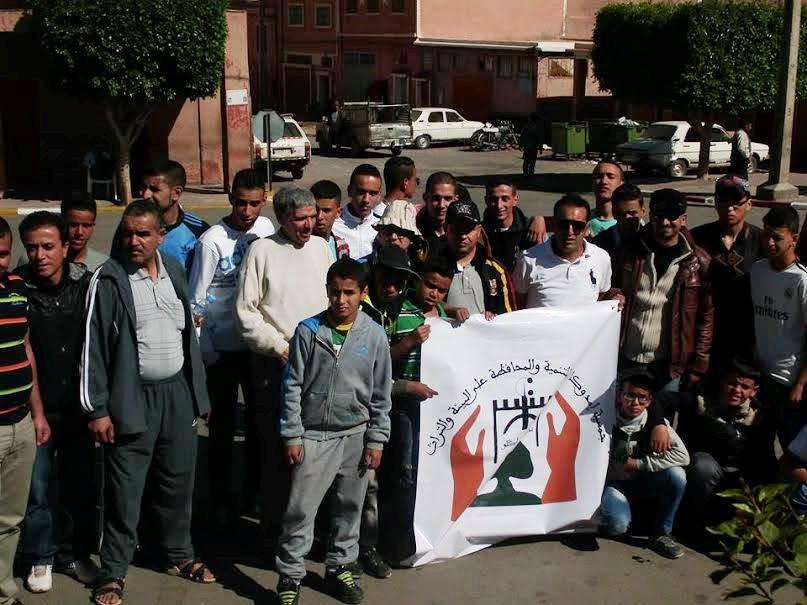 جمعية إمدوكال في رحلة ترفيهية إلى مدينة تافراوت