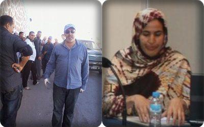 المعتقلة السياسية السابقة خديجة زيان  تكشف حقيقة اعتقال الرئيس المعزول لبلدية سيدي افني