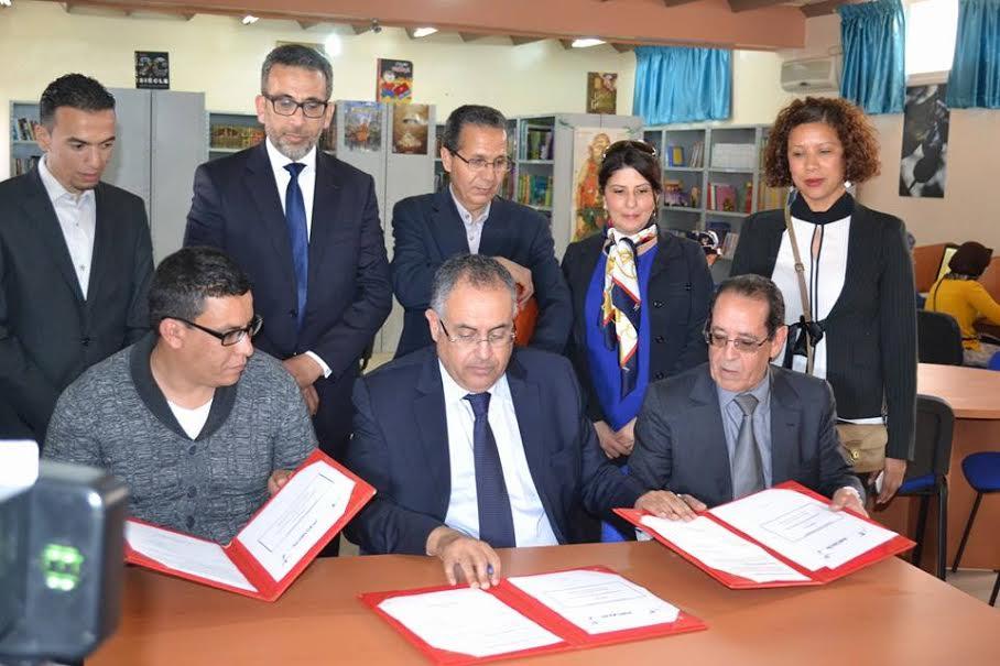 اتفاقية شراكة بين مجموعة أكوا و جمعية سوس ماسة مبادرة وجمعية شباب تافراوت لدعم الشباب حاملي أفكار مشاريع