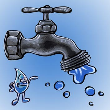 احتجاج بميراللفت من الانقطاعات المتواصلة لمياه الشرب