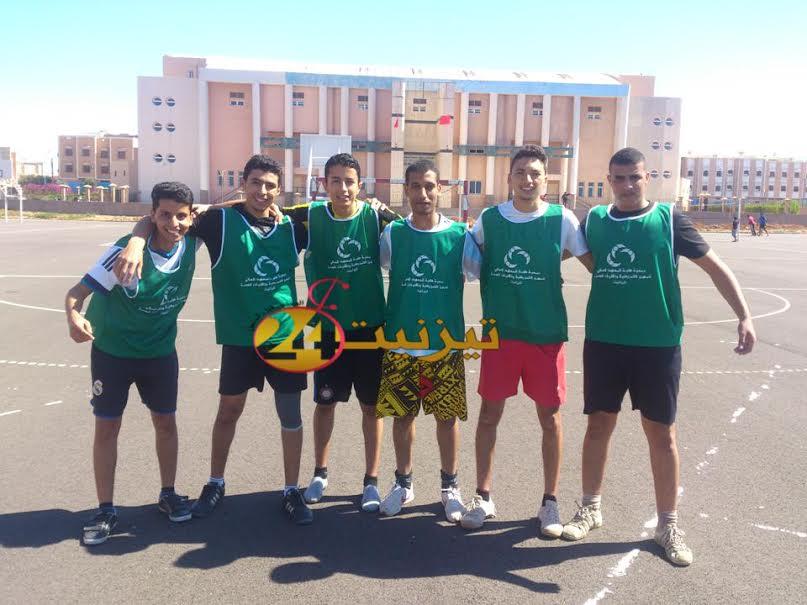 نتائج مباريات الجولة الثانية لدوري كرة القدم لجمعية طلبة المعهد العالي للمهن التمريضية وتقنيات الصحة تيزنيت