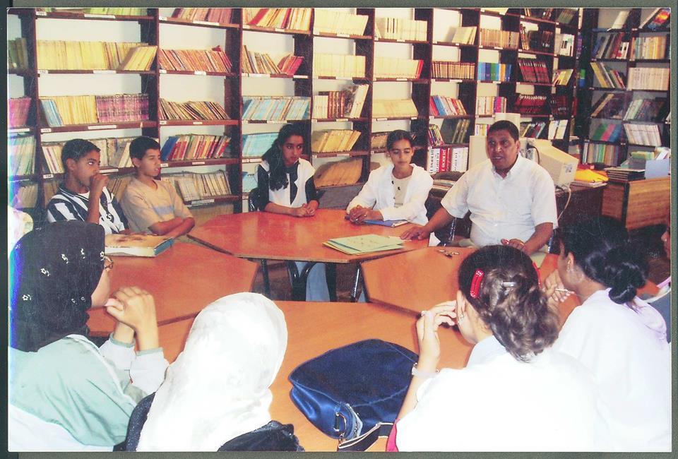 من أرشيف الإذاعة المدرسية بثانوية مولاي رشيد