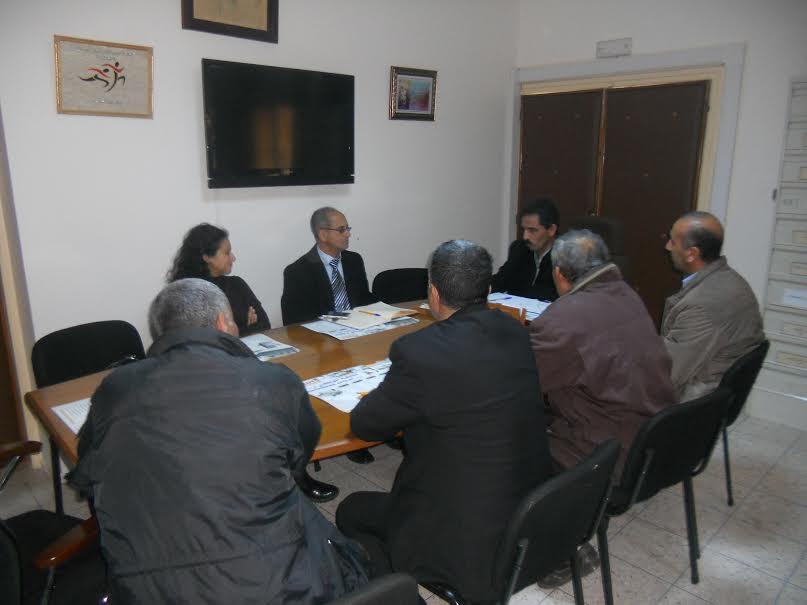 جلسة عمل بين نيابة تيزنيت ولجنة مشتركة من الاكاديمية الجهوية ومؤسسة محمد السادس للنهوض بالتعليم الاولي