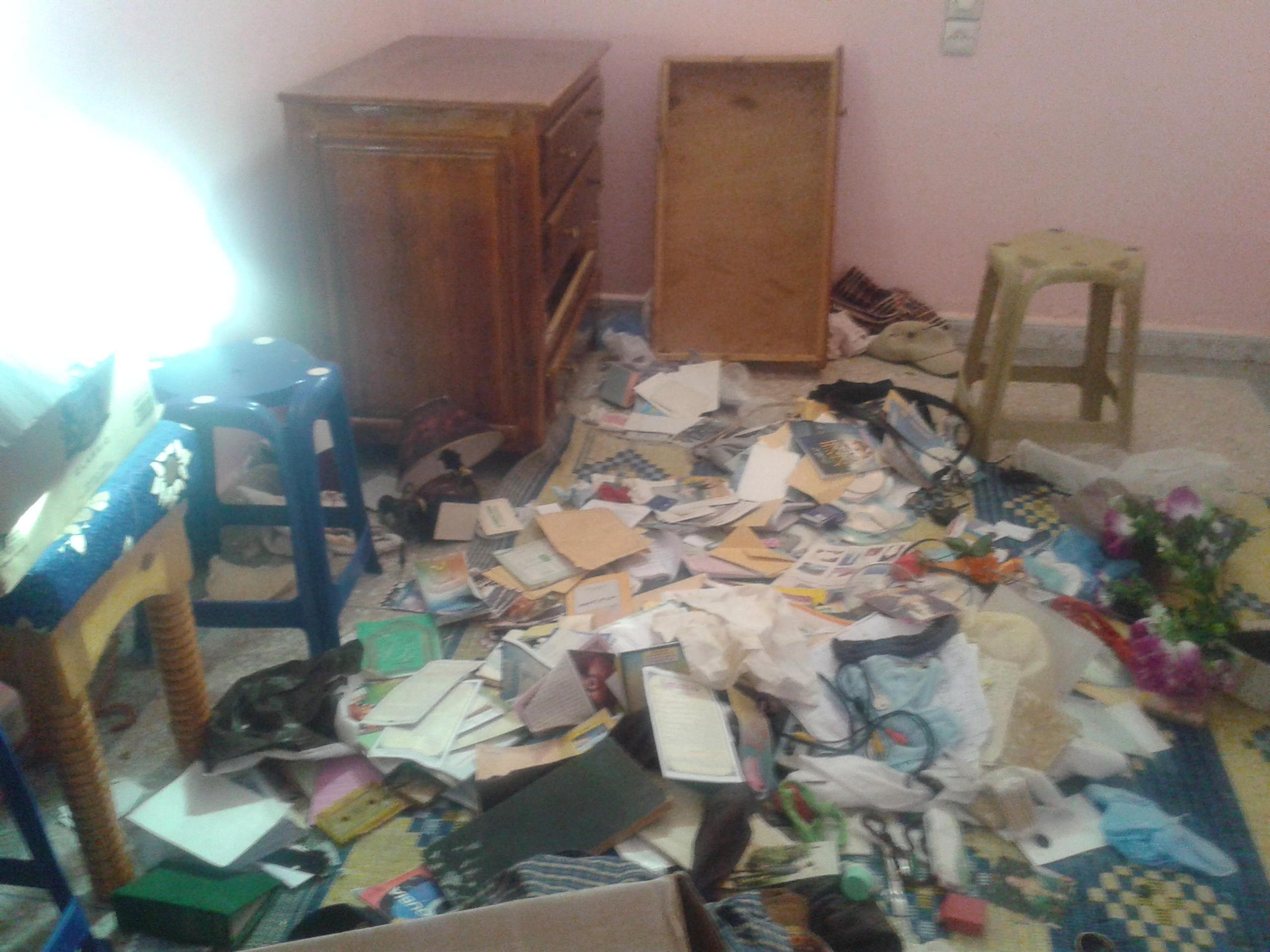منزل المراسل الصحفي رشيد بيجيكن يتعرض للسرقة باشتوكة أيت باها / مرفق بالصور