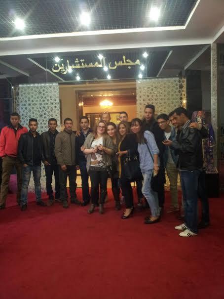 رابطة شباب مدينتي في زيارة للبرلمان