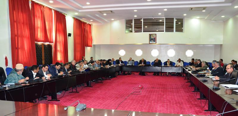 لقاء جهوي حول التدابير ذات الأولوية لفائدة أعضاء المجلس الإداري والشركاء الاجتماعيين