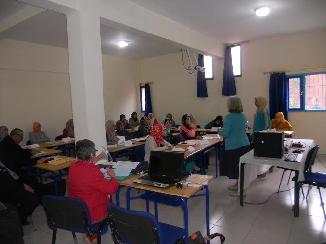 لقاء دراسي وتكويني بمركز التكوين المستمر لفائدة مربيات التعليم الاولي بتيزنيت