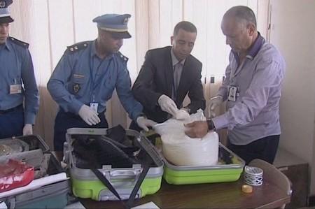 ضبط 2 كيلوغرام ونصف من الكوكايين بمطار محمد الخامس الدولي
