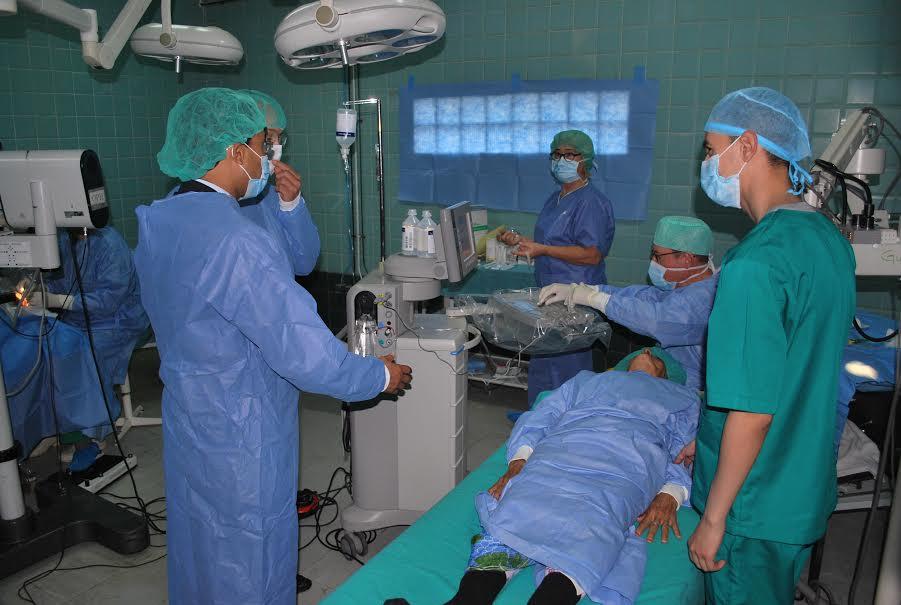 حملة طبية بمستشفى سيدي إفني