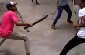 شجار بالأسلحة البيضاء قرب باب الخميس بسبب التحرش