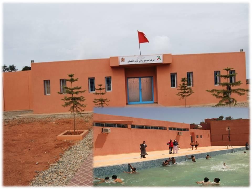 بلدية الأخصاص تتدارس سبل تنشيط البنيات الرياضية والشبابية بالمدينة