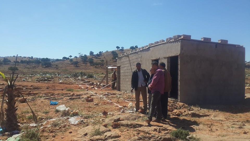 إنجاز أشغال بناءالمجزرة البلدية بمدينة الأخصاص بإقليم سيدي افني