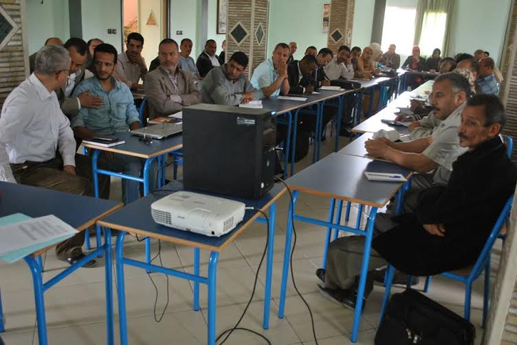 الجماعات المحلية: يوم تكويني حول تدبير الموارد البشرية بتيزنيت