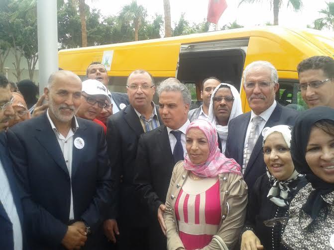 النقل المدرسي بنيابة انزكان ايت ملول يتعزز بحافلة جديدة بدعم من المبادرة الوطنية للتنمية البشرية
