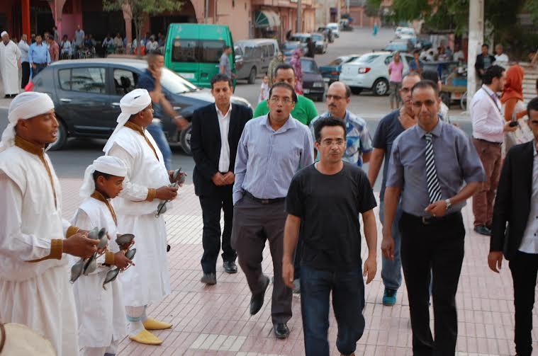 افتتاح فعاليات الدورة الثانية لمهرجان أجيال الوطني للمسرح بمدينة بيوكرى
