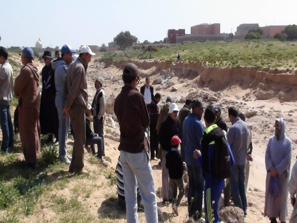 قرية تيمزليت بتيزنيت : الرمال تخفي الكثير