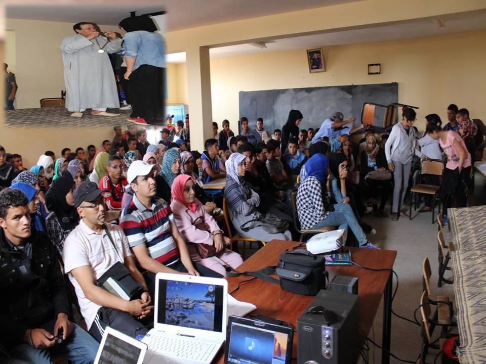 تتويج أنشطة الأندية التربوية بثانوية السلام التأهيلية