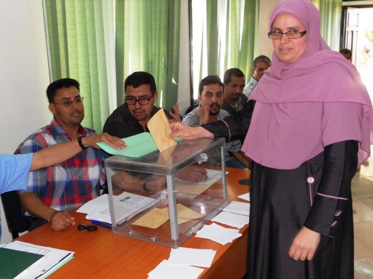 اللجان الثنائية: الانتخابات رؤساء مكاتب التصويت ومساعديهم في لقاء تكويني بنيابة إنزكان أيت ملول