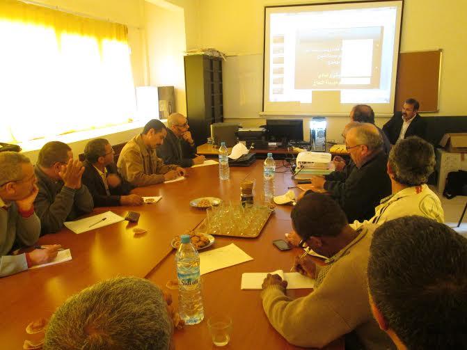 جماعة الممارسات المهنية الرازي بنيابة تيزنيتفي لقاء تكويني حول التدبير المالي لجمعيات مدرسة النجاح