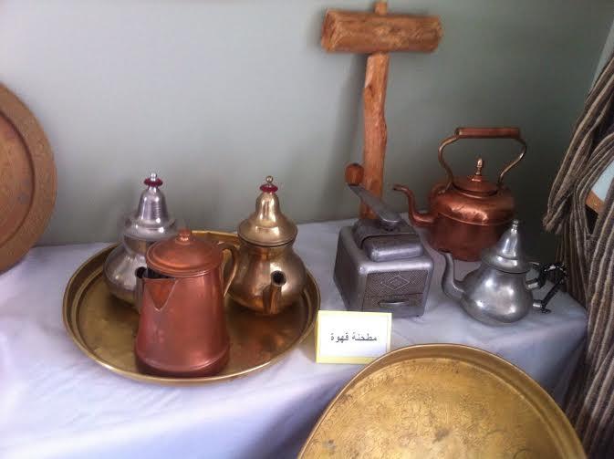 معرض تقليدي بإعدادية النور بتيزنيت