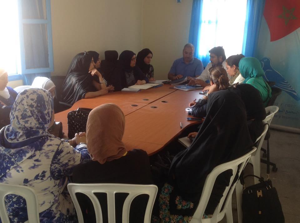 حزب التجمع الوطني للاحرار بتيزنيت يؤسس الفرع الاقليمي لمنظمة المراة التجمعية