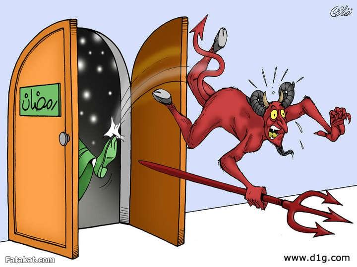 عْلاش الشياطين مْربوطة والتلفزيون مطْلوق؟