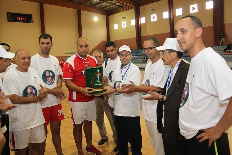 الرابطة المغربية للصحافيين الرياضيين تكرم يوسف اشامي النجم السابق لحسنية اكادير