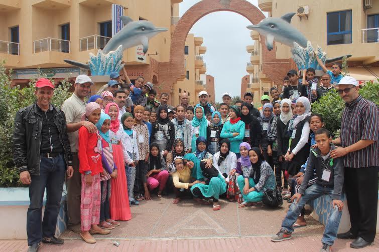 رحلة تربوية لفائدة تلاميذ مجموعة مدارس ابن خلدون – وجان إلى مدينة كلميم