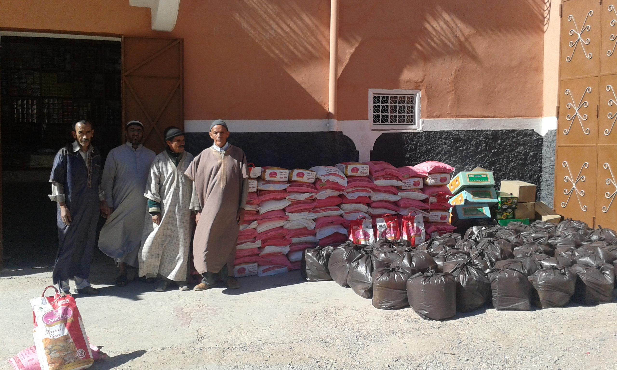 جمعية تيواضو للتنمية تكرم ساكنة دوارها بمناسبة شهر رمضان الكريم