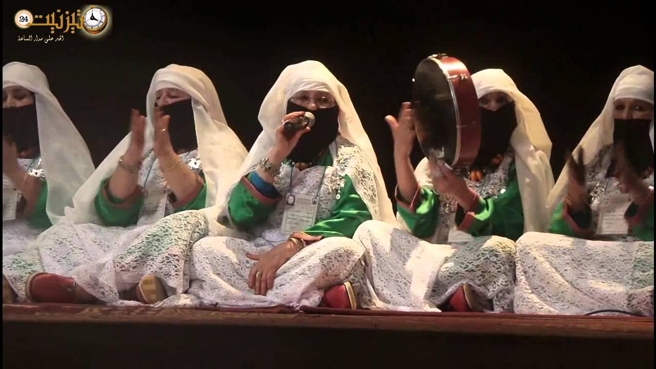 احتفال النساء بالمولد النبوي الشريف بزاوية تمكلجت