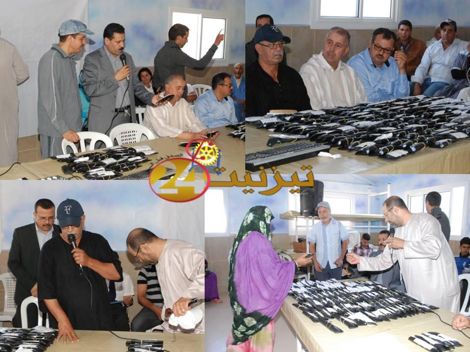 270 شخص يستفيدون من النظارات الطبية بجماعة بونعمان