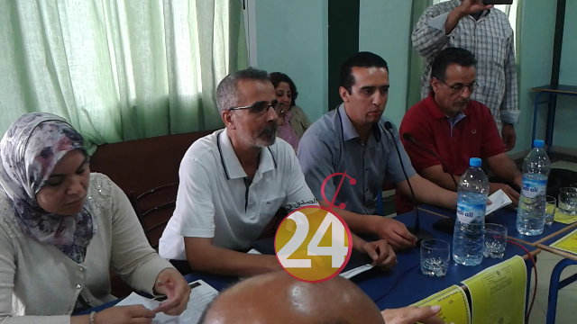 كنفدراليو قطاع الصحة بتيزنيت يحتفلون بفوزهم في انتخابات اللجان الإدارية